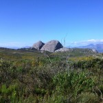 Paarl Rock from the top of the mountain